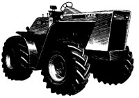 Case 1200 Traction King Tractor Service Manual