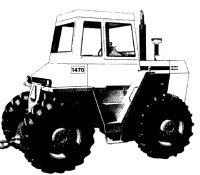 Case 1470 Traction King Tractor Service Manual