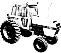 Case 2390 case 2090, 2290 tractor service manual newoldmanuals com backhoe case 2590 wiring diagram at crackthecode.co