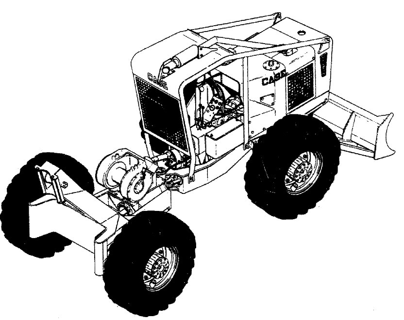 case 580b backhoe service manual