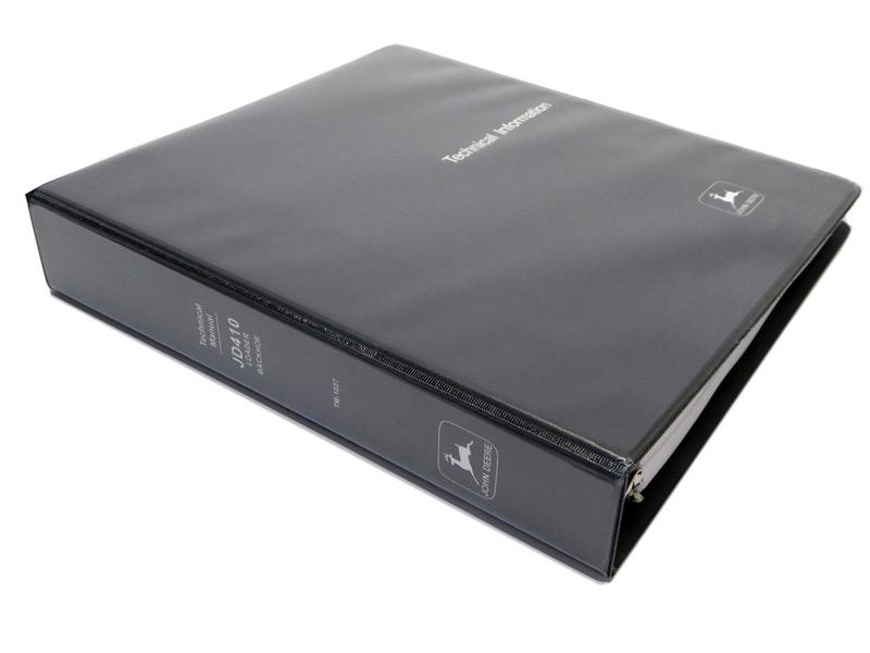 John Deere Service Manuals - John Deere 410 Loader Backhoe Technical