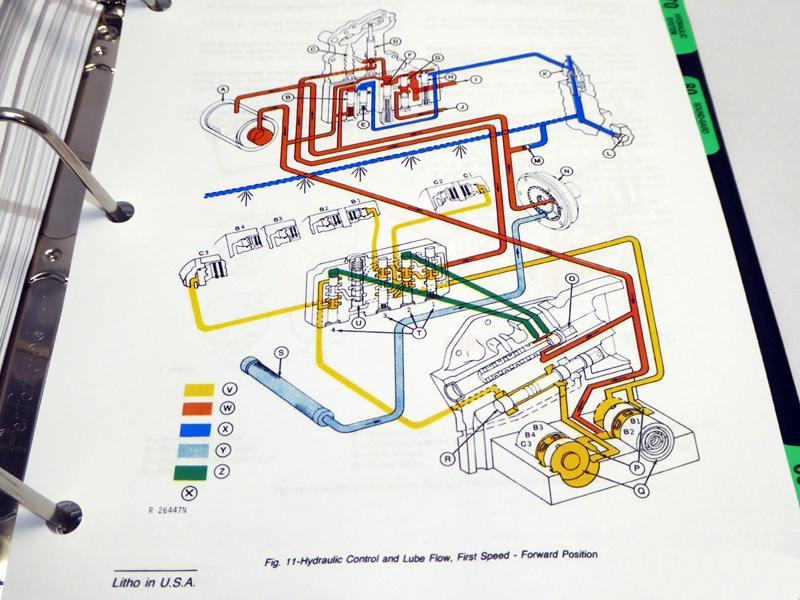 John Deere Service Manuals - John Deere 4430 & 4630 Tractor ... on