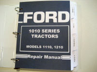 Ford 1110, 1210 Tractor Service 