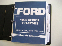 Ford 1300, 1500, 1700, 1900 Tractor Service Manual