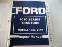 Ford 1910, 2110 Tractor Service Manual