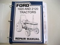 Ford 1920 and 2120 Tractor Service (Repair) Manual