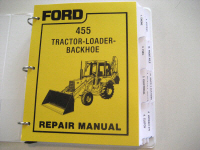 Ford 455 Tractor/Loader/Backhoe Service Manual