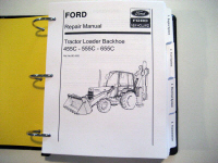 Ford Tractor Service Manual Ford 455C 555C 655C