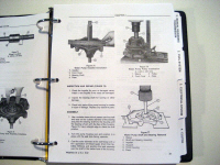 Ford Tractor Service Manual - Ford 550, 555 Tractor Loader