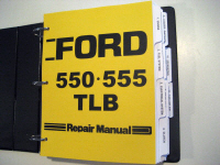 Ford 550, 555 Tractor Loader Backhoe (TLB) Service Manual