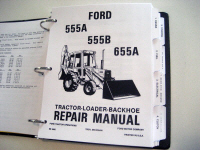 ford 555a 555b 655a tractor loader backhoe service manual ford 555a 555b 655a tractor loader backhoe service manual