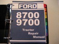 Ford 8700, 9700 Tractor Service Manual