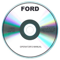 Ford 455C TLB Tractor-Loader-Backhoe Operator's Manual
