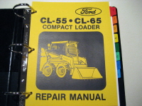 Ford CL-55, CL-65 Compact Loader Service Manual