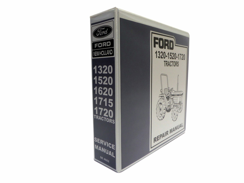 ford tractor service manual ford 1320 1520 1720 tractor service rh newoldmanuals com Old Ford Tractor Wiring Diagram Old Ford Tractor Wiring Diagram