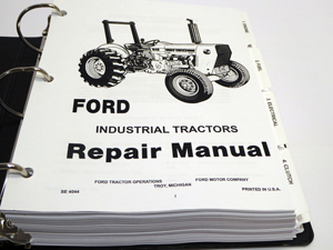 ford230asmsm3 ford 230a, 340a, 445, 530a, 540a, 545 tractor service manual 1993 ford 545 tractor cab wiring diagram at creativeand.co