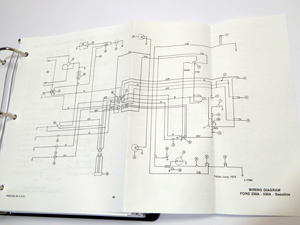 ford 230a 340a 445 530a 540a 545 tractor service manual rh newoldmanuals com Ford Jubilee Tractor Wiring Diagram Old Ford Tractor Wiring Diagram