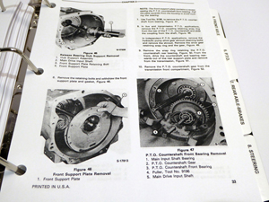ford230asmsm8 ford 230a, 340a, 445, 530a, 540a, 545 tractor service manual 1993 ford 545 tractor cab wiring diagram at creativeand.co