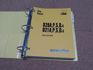 case 580c construction king backhoe loader service manual komatsu d20 a p s q 6 d21a p