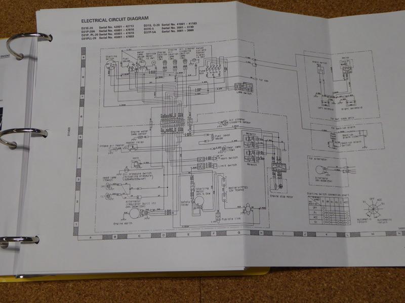Komatsu Service Manuals  P  Pl  Pll