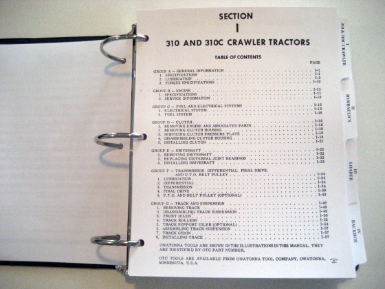 Case 430 Tractor Clutch Replacement : Case tractor b c  service manual
