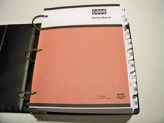 1 case 480d 480d ll loader backhoe service manual repair shop book  at n-0.co