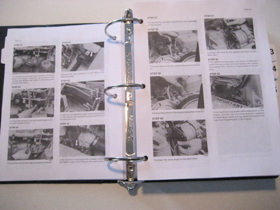 PHASE 1 CUSTODIA 580K Loader Backhoe Service Manual Repair Shop ...