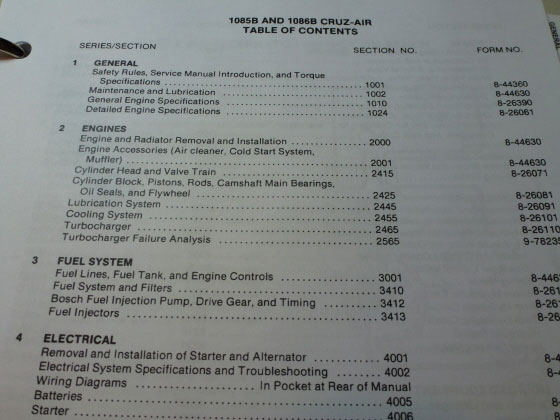 2 case 1085b 1086b cruz air crane excavator logger service manual  at soozxer.org