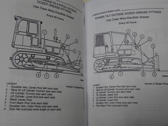 Case 1150E/1155E Crawler Dozer Bulldozer Operators Manual