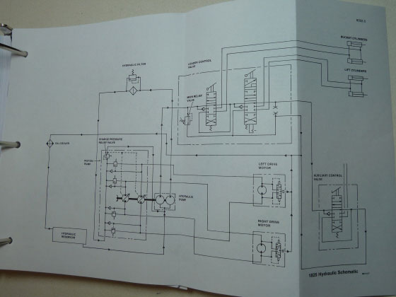 5 case 1825 uni loader skid steer service manual repair shop book case 1845c wiring diagram at mifinder.co