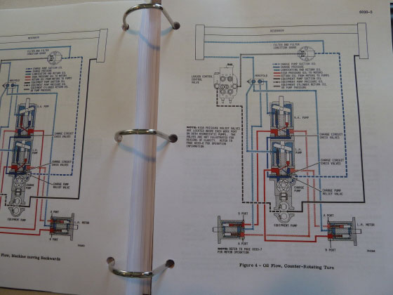 4 case 1830 uni loader skid steer service manual repair shop book Case 410 Wiring-Diagram at fashall.co