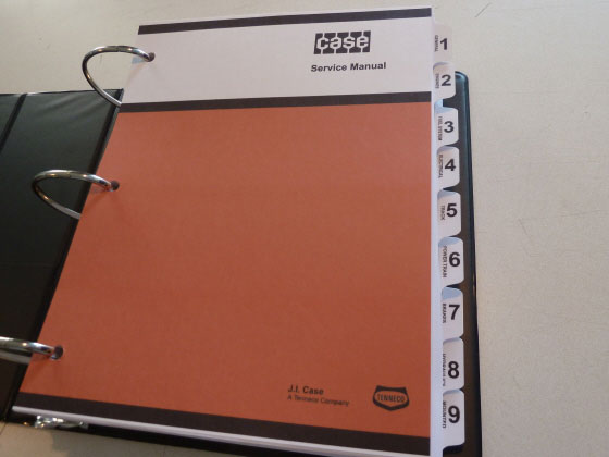 Case 1840 Uni loader Repair Manual Download