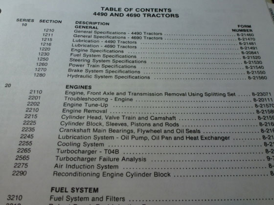 Business & Industrial Heavy Equipment Manuals & Books Case 4490 ...