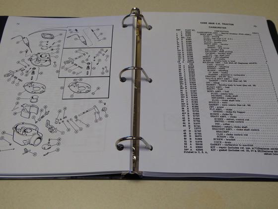 Case 480b  480ck B Tractor Loader Backhoe Parts Catalog