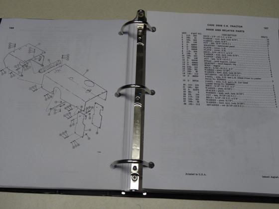 Case 580b Ck  580ck B Tractor Parts Catalog  Manual  List