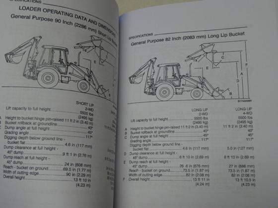Case 580K Phase 3 Loader Backhoe Operators Manual Owners