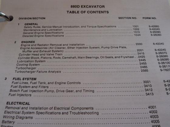 Case 880d excavator service manual repair shop book new with binder case 880d excavator service manual fandeluxe Choice Image