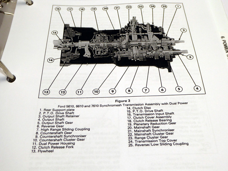 3910 Ford Tractor Transmission Diagram : Ford  tractor