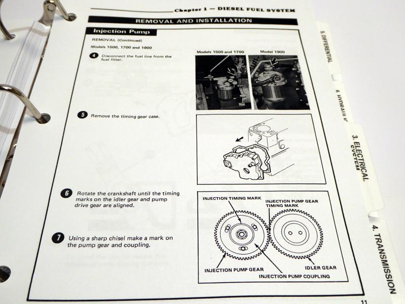 oliver tractor alternator wiring diagram ford 1300, 1500, 1700, 1900 tractor service manual repair ... ford 1300 tractor alternator wiring diagram