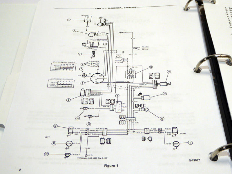 1710 Tractor Service Manual Se 4301 Product Images For Larger See Upper Left Corner Of Page: Wiring Diagram 1986 Ford Tractor 1710 At Executivepassage.co