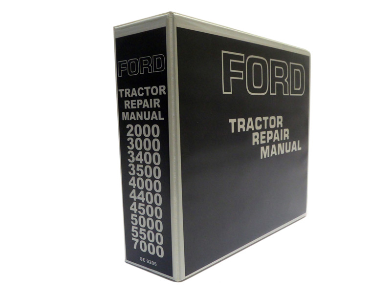 Ford Parts Cat Ford 2000 3000 4000 5000 7000 Tractor Workshop Service Repair Manual