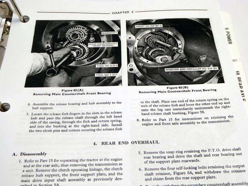 Ford 2000 3000 4000 5000 7000 Tractor Service Manual Repair Shop. For Larger S See Upper Left Corner Of Page. Ford. Ford 2000 Tractor Front Axle Diagram At Scoala.co