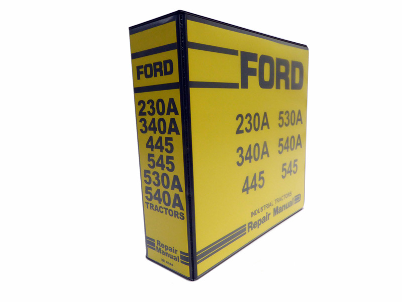 ford 230a,340a,445,530a,540a,545 tractor service manual repair shopmanual (se 4044) product images