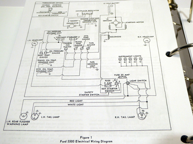 Cool Ford 2000 3000 3400 3500 4000 4400 4500 5500 Tractor Service Manual Wiring 101 Kwecapipaaccommodationcom