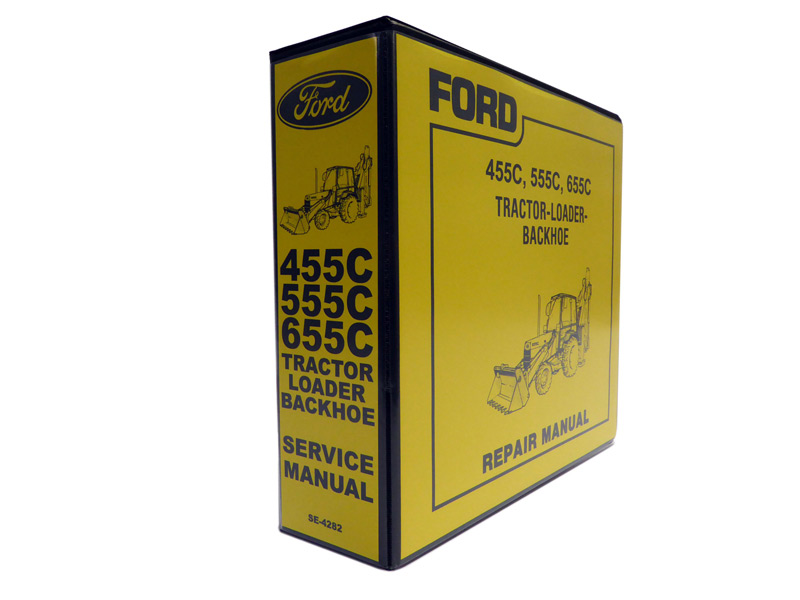 Ford 455C 555C 655C Tractor Loader Backhoe Service Manual Repair