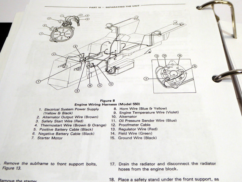 Ford 550 555 Tractor Loader Backhoe Tlb Factory Service Manual. For Larger S See Upper Left Corner Of Page. Ford. Ford 555 Backhoe Front Axle Diagram At Scoala.co