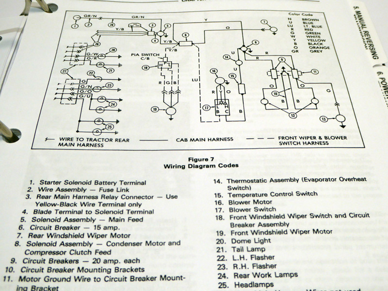 ford 550, 555 tractor loader backhoe tlb factory service ... ford 555 backhoe wiring diagram #2