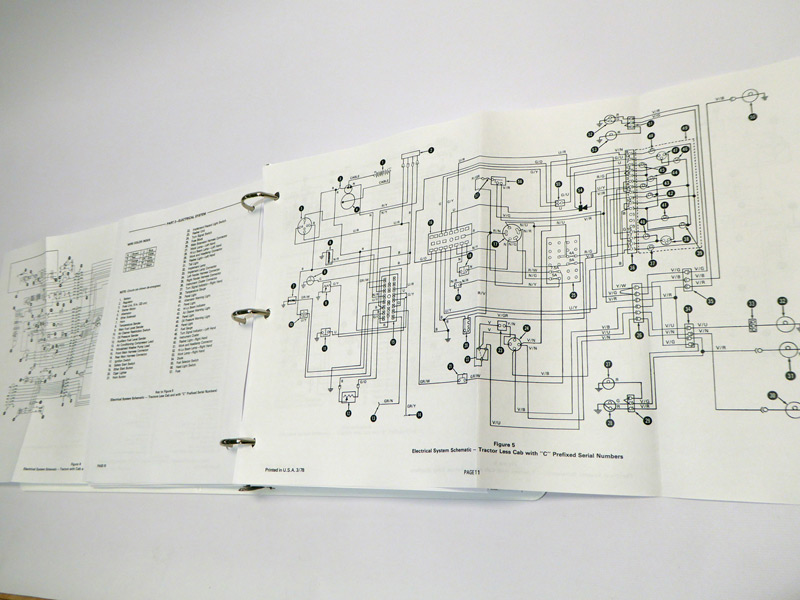 ford wiring diagram 2004 dvd ford 8700, 9700 tractor factory service manual repair shop ... #15