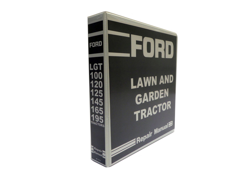 ford lgt 100 120 125 145 165 195 lawn garden tractor service repair rh ebay com Ford Mower Deck Parts ford lgt 165 service manual